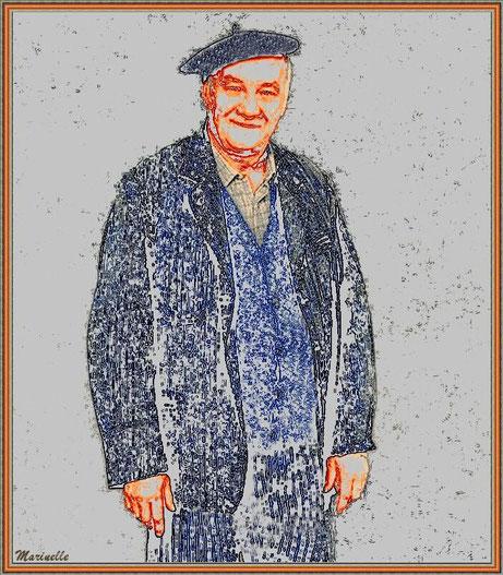 """ean-Pierre Clami. Ici dans son rôle lors de la reprise du """"père Maxence"""" dans la comédie musicale """"Les Choristes""""."""