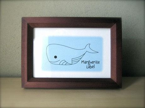 Pretty Whale / かわいい くじら