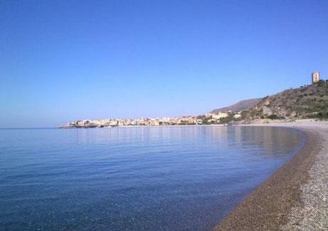 Panorama di Marina di Camerota