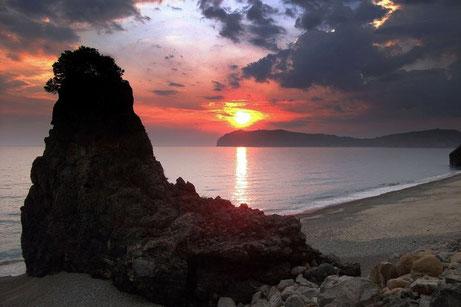 Spiaggia della Vela - Tramonto