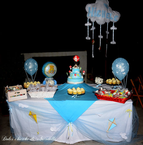 baby shower-party-feste-bimbi-torte-la spezia-aquiloni