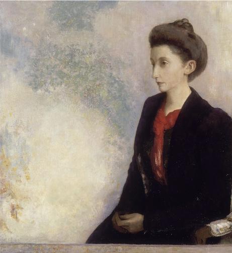 《ドムシ―男爵夫人》1900年