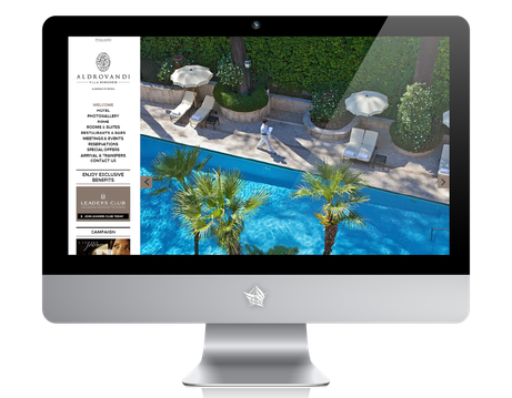 Aldrovandi Rome Website