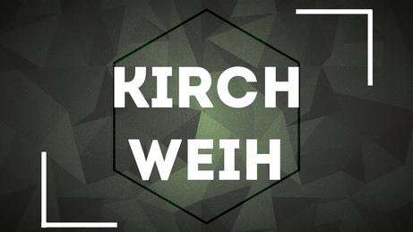 Kirchweih Fest & Party in Wörnitz - Plakat und Logo