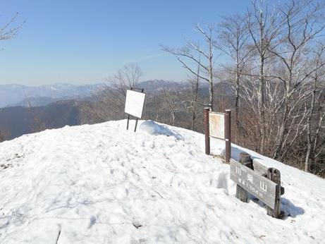 川苔山 3月17日