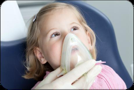 Besonders gut geeignet für Angstpatienten: Lachgas (© proDente e.V.)