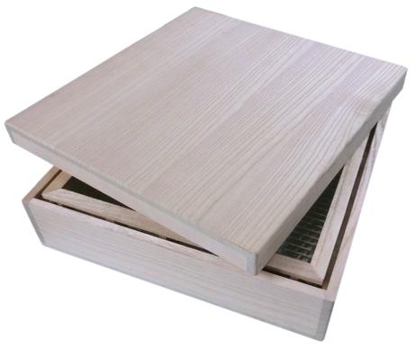 遮熱箱 保存と保管箱 常温変化がゆるやかで、収納品の熱ストレスを軽減