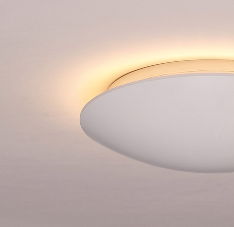 Led opbouwspots rond mat dimbaar indirect hal hotel trappenhuis portiek BBM Ledproducts