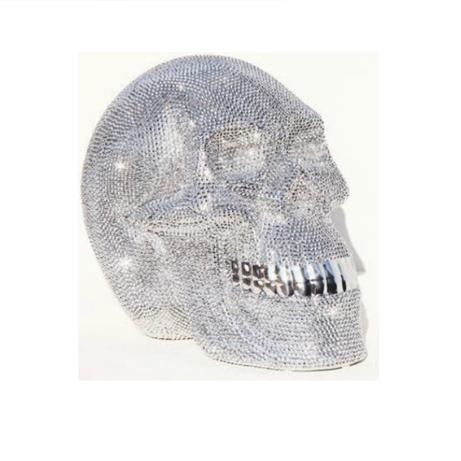 Totenkopf silber