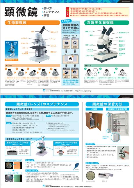 ★顕微鏡 使い方 メンテナンス 保管