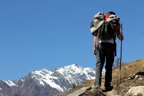 guide trek Népal, guide indépendant