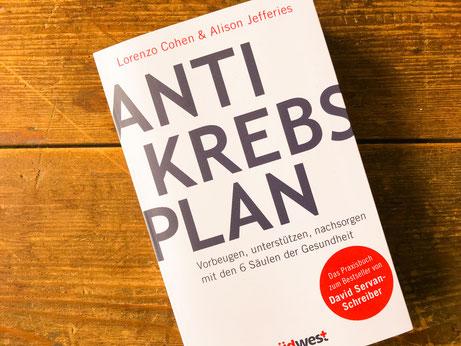 Rezension Lorenzo Cohen Antikrebs Plan