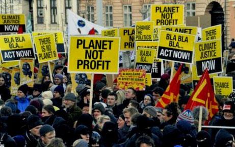 COP15 demo i København