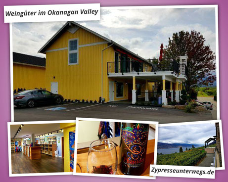 Weinanbau in Kanada: Weingüter im Okanagan Valley