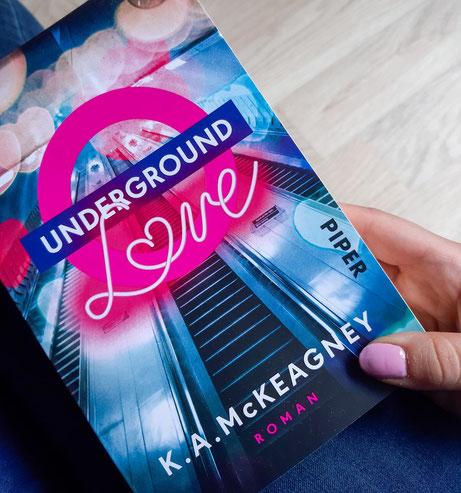 Underground Love von K. A. McKeagney