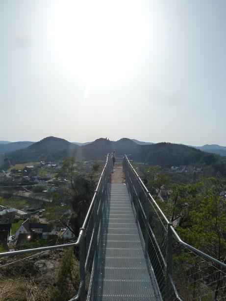 Auf der Hahnfelstour bei Erfweiler