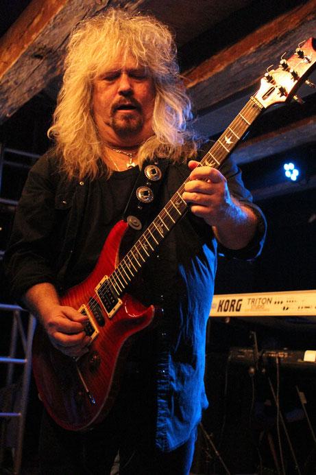 Bandleader Bobby Ingram stieß vor 33 Jahren zu Molly Hatchet.