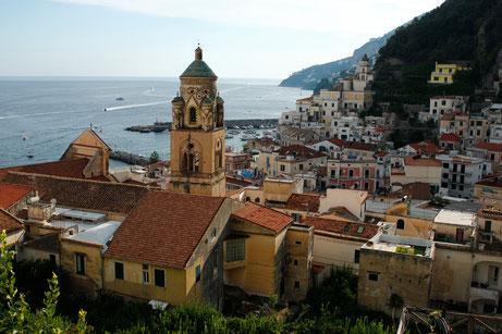 Ausblick Amalfi, Amalfiküste, Roadtrip Italien, lonelyroadlover
