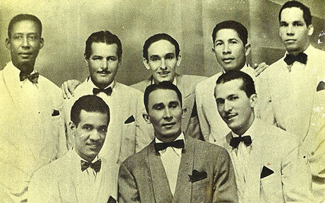 José Barros y los Trovadores de Barú, 1948.
