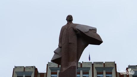 The Michaels, Transnistrien, Moldawien, Lenin, Statue