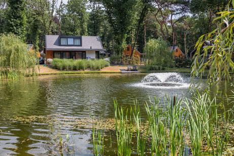Te koop vakantiewoningen op Landgoed de Scheleberg  in Lunteren (Gelderland)