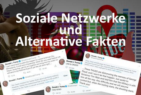 Soziale Netzwerke und Alternative Fakten: Der US-Präsident und seine Wahrheiten, Florian Faab