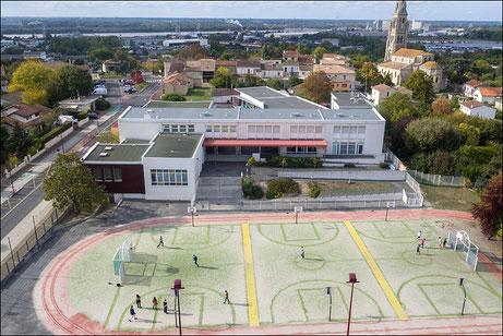Drone collectivité locale et mairie Gironde