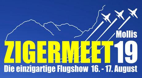 Zigermeet19 mollis airshow mountain suisse