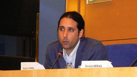 Mr. Benjamin Ismaël, journaliste Reporters sans frontières.