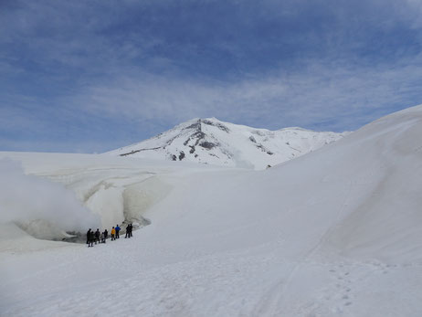 GWの旭岳噴気孔