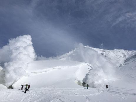 旭岳噴気孔