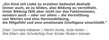Zitat Cornelia Kläsener
