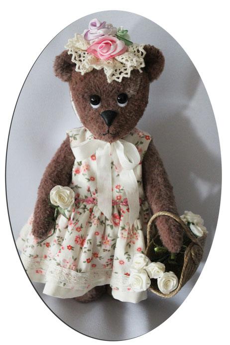 "Sammler Teddybären collectors Teddy Bears ""Victoria das Blumenmädchen"" Handmade"
