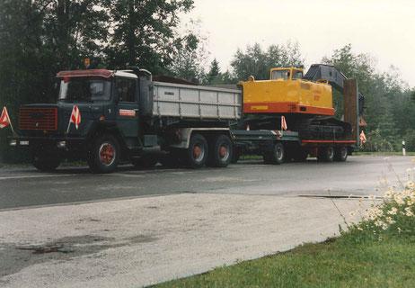 Gschwend Transport Engelburg St. Gallen Baumaschinentransporte
