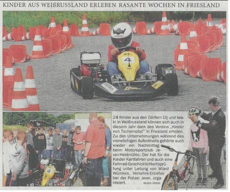 Nordwest Zeitung 17.08.2017