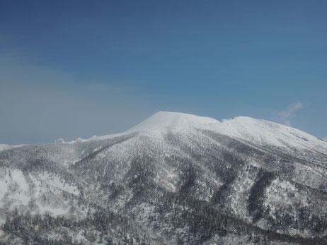 昨年は曇天のため見ることができなかった岩手山もビューティホー!!