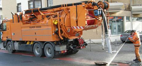 Spültechnik für Rohr- und Kanalreinigung, Georg Mayer GmbH, Nußdorf