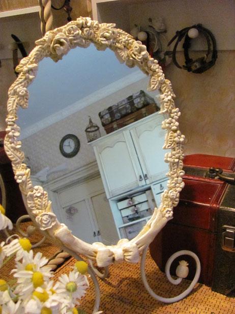 рамка для зеркала в стилеShabby c шебби шик silk-Ribbon  HAND MADE игрушки ручной работы  сумки ручной работы купить заказать игрушку ручной работы ч пэчворк игрушки ручной работы  сумки ручной работы