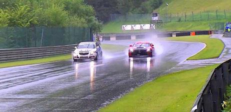 Mercedes AMG GT3 Dennis Bröker Chevrolet Cruze Eurocup 2020 Salzburgring Österreich