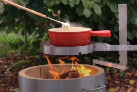 Fire-Pot Fondue / Grill Fondue