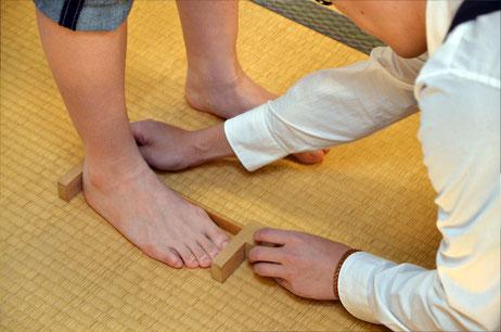 店頭では無料で足部の計測もできます^^