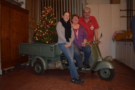 Weihnachtshöck bei der IG-Ape-Schweiz