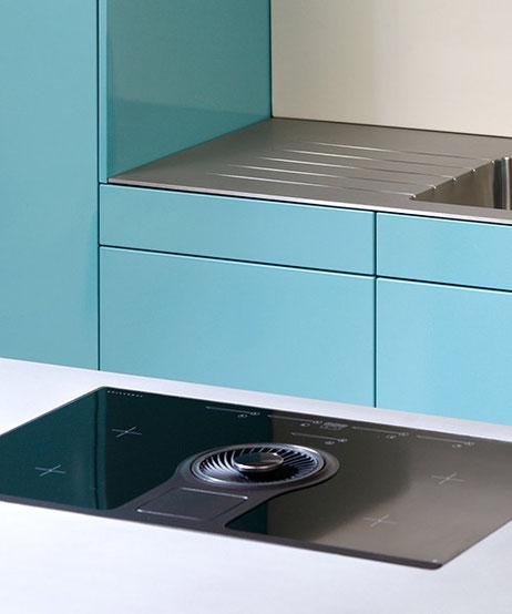 Exklusive Designer-Stahlküchen von TIBA