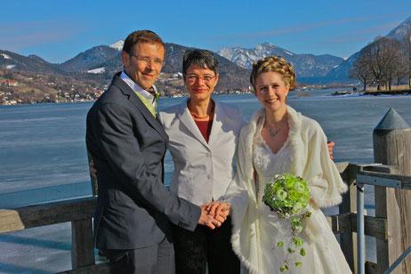 Rina und Falk, Hochzeit im Winter