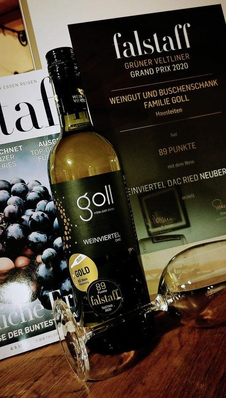 Falstaff ausgezeichneter Goll Wein