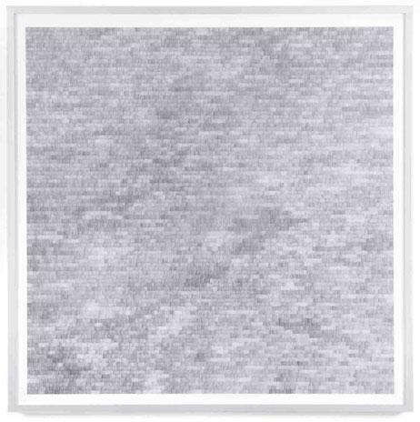 Gewebe, 2017, Bleistift auf Papier, 90 x 90 cm