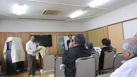 和歌山市湊御殿地区の津波シェルター説明会04