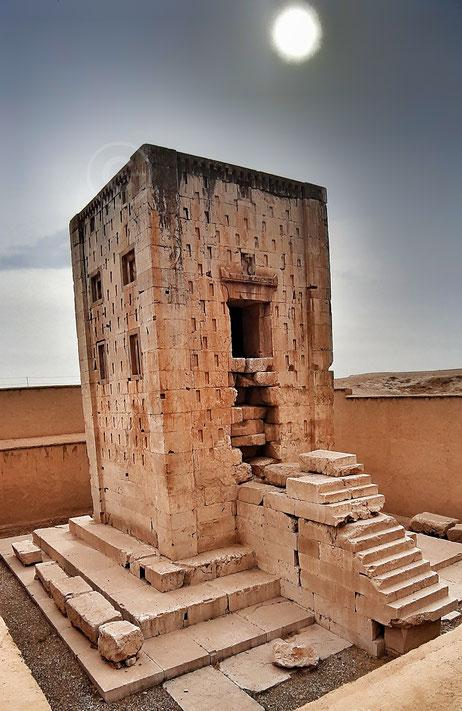 Ka'ba-ye Zartosht, il Cubo di Zoroastro - Naqsh-e Rostam, Iran