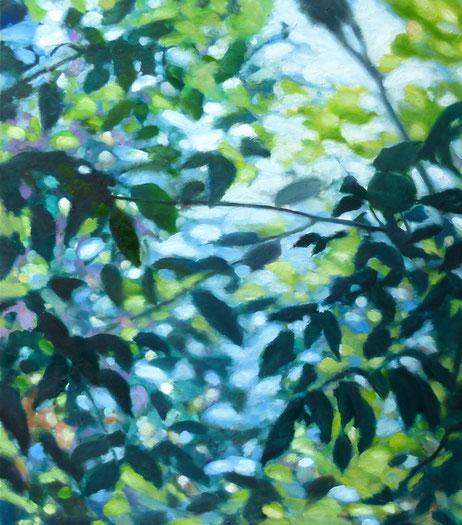 leaves 70x80cm