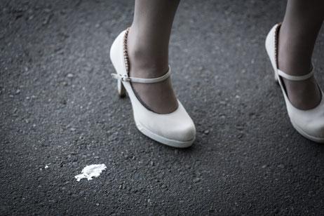 ヒールを履いて腰痛になった奈良県香芝市の女性